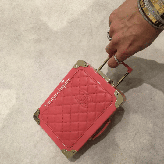 Chanel Pink Mini Suitcase Clutch Bag 2 - Spring 2016
