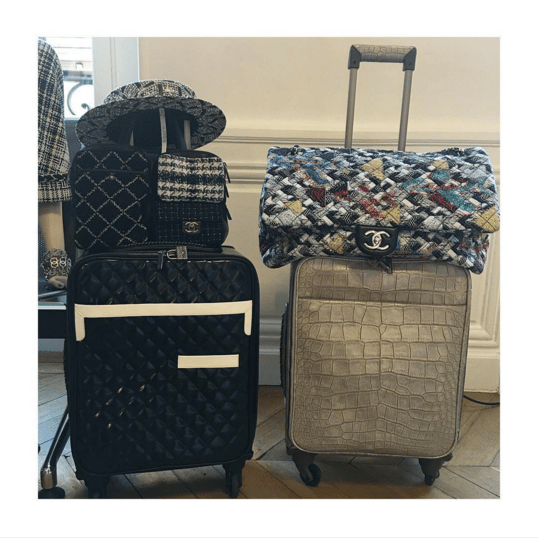 Chanel Quilted and Alligator Luggage and Tweed Bags - Spring 2016