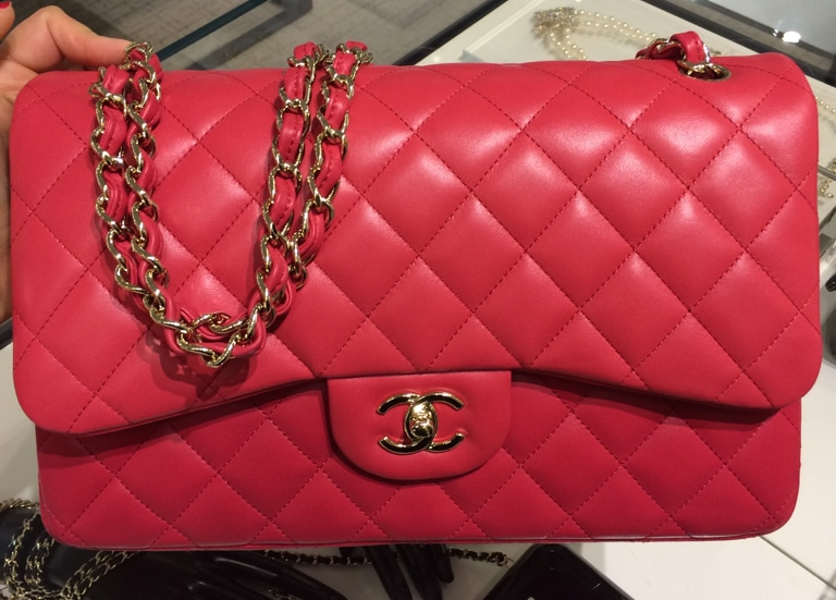 3cc5e6ba5073 Chanel Red Classic Flap Medium Bag - Cruise 2016