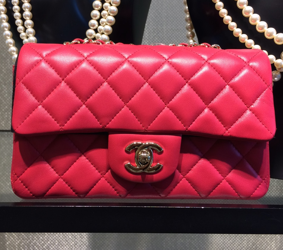 e57ae01372f6 Chanel Red Classic Flap Mini Bag 3 - Cruise 2016