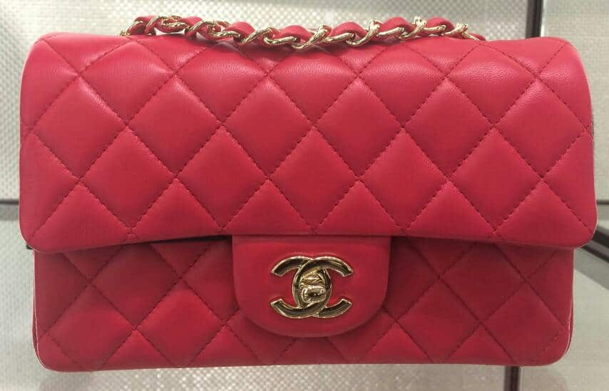 989280d36753 Chanel Red Classic Flap Mini Bag - Cruise 2016