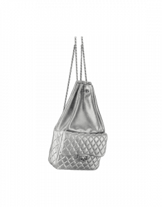 83d82e3e8b80 ... Chanel Silver Backpack in Seoul Large Bag