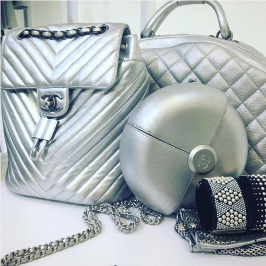 Chanel Silver Bags - Spring 2016