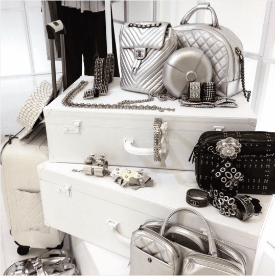 Chanel Silver Bags and Accessories - Spring 2016