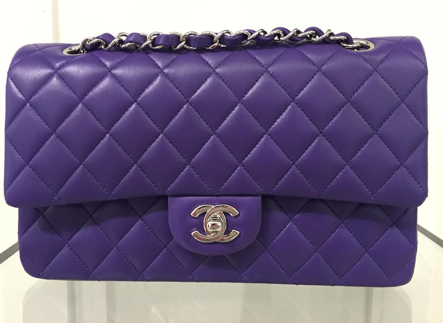 c033cf2fc3c9 Chanel Cruise 2016 Classic Flap Bag Colors | Spotted Fashion