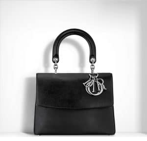 Dior Black Buffalo Hide Be Dior Small Bag