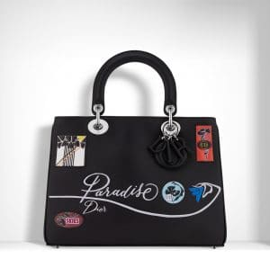 Dior Black Paradise Diorissimo Bag
