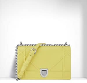 Dior Lemon Diorama Bag