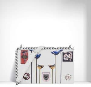 Diorama White Paradise Diorama Bag
