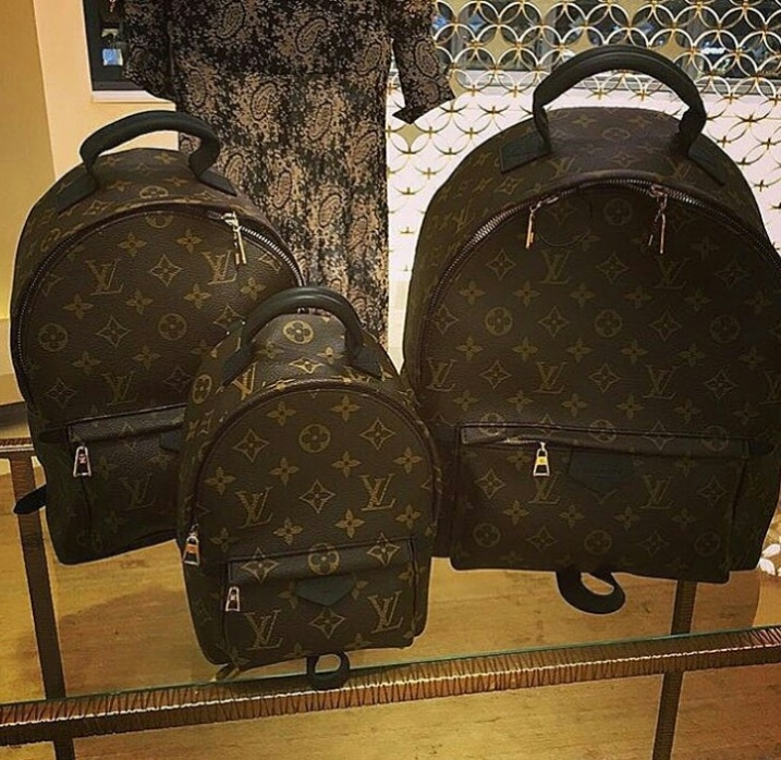95fd53028a43 Gallery. Louis Vuitton Monogram Canvas Palm Springs Backpack ...