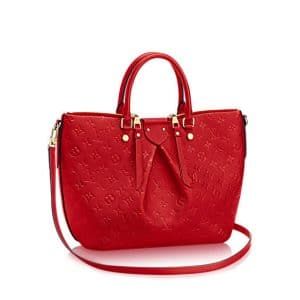 Louis Vuitton Cherry Monogram Empreinte Mazarine MM Bag