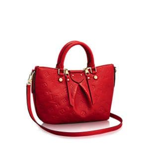 Louis Vuitton Cherry Monogram Empreinte Mazarine PM Bag