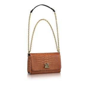 Louis Vuitton Clay Crocodile Go-14 PM Bag