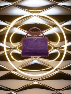 Louis Vuitton Crocodile Capucines MM Bag