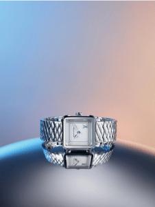 Louis Vuitton Emprise Steel Malletage Watch