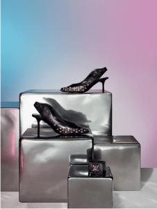 Louis Vuitton Gold Rush Slingback Pump and Twist It Leather Bracelet