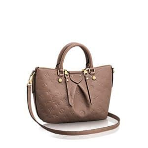 Louis Vuitton Taupe Monogram Empreinte Mazarine PM Bag