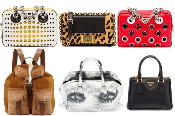 70d3ff2bb77a Prada Resort 2016 Bag Collection Featuring Perforated Handbags ...