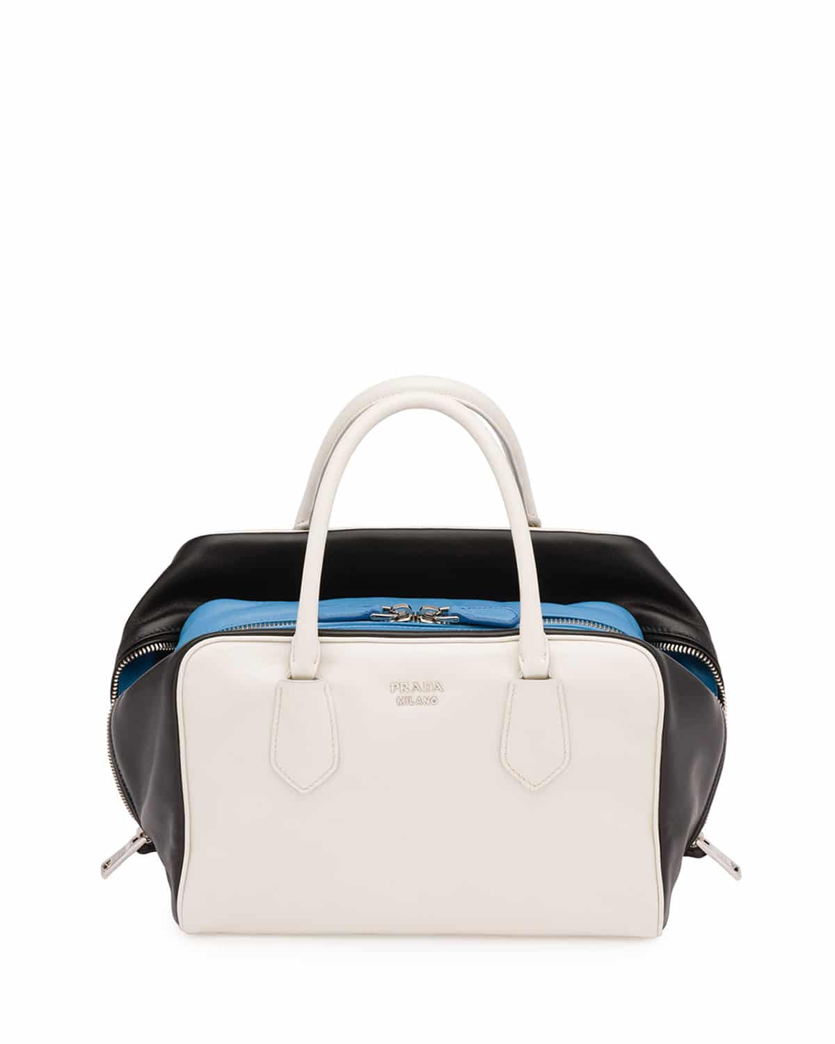light blue prada bag