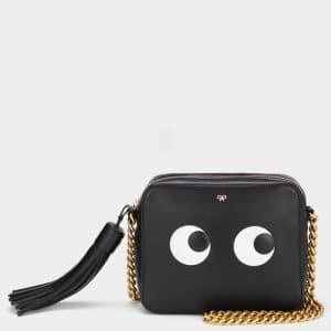 Anya Hindmarch Black Eyes Cross-Body Bag
