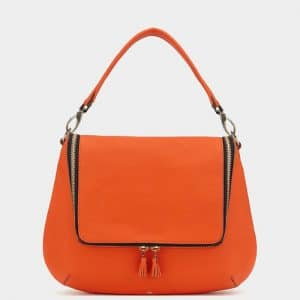 Anya Hindmarch Clementine Maxi Zip Satchel Bag