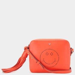 Anya Hindmarch Clementine Smiley Cross-Body Bag
