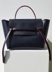 Celine Navy Blue Mini Belt Bag