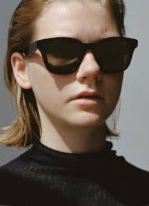 Celine Turtleneck Sweater and Black Sacha Sunglasses