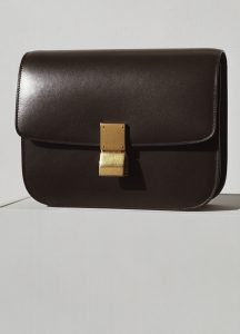 Celine Wood Classic Box Medium Bag