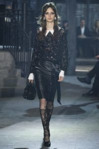 Chanel Black Embellished Bucket Bag - Pre-Fall 2016
