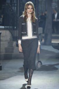 Chanel Black Embellished Flap Bag - Pre-Fall 2016