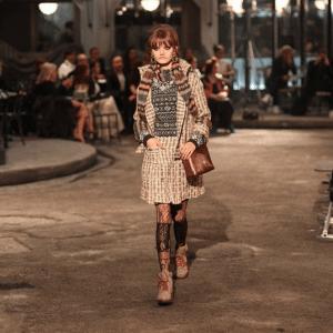 Chanel Bronze Python Shoulder Bag 2 - Pre-Fall 2016