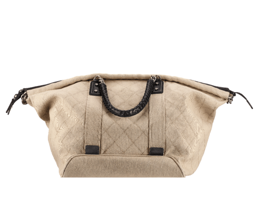 Chanel Canvas Street Style Travel Bag