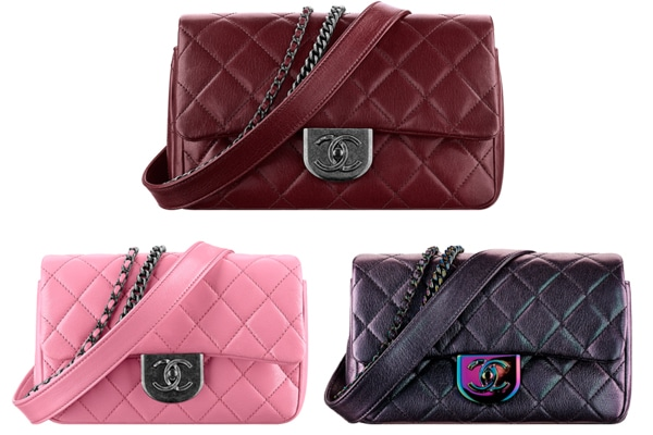 779048db65a1 Chanel Double Carry Waist Chain Flap Bag Reference Guide