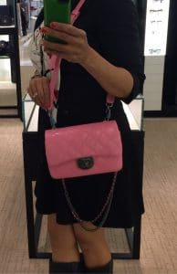 Chanel Pink Double Carry Flap Small Bag 3