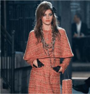 Chanel Pink Tweed Shoulder Bag - Pre-Fall 2016