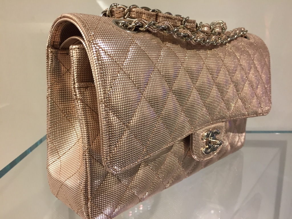 Chanel Pixel Effect Flap Bag From Cruise 2016 | Spotted