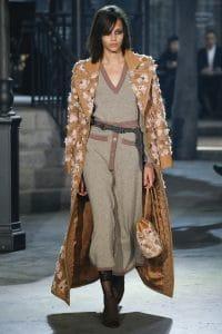 Chanel Tan Embellished Bucket Bag - Pre-Fall 2016