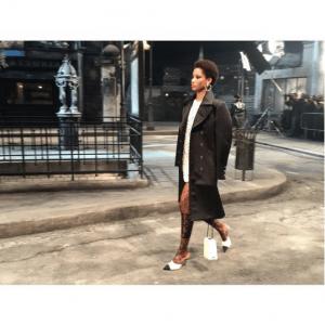 Chanel White Boxy Bag - Pre-Fall 2016