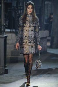 Chanel White/Black Tweed Shoulder Bag - Pre-Fall 2016