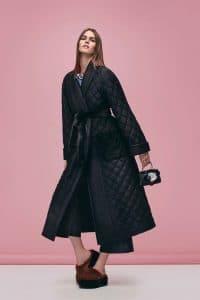 Fendi Black Floral Embellished Peekaboo Micro Bag - Pre-Fall 2016