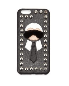 Fendi Black Studded Karlito iPhone 6 Cover
