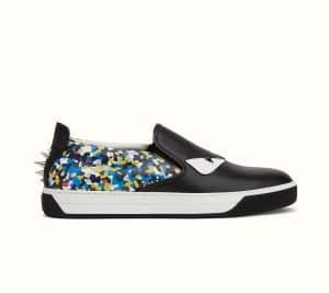 Fendi Multicolor Bag Bugs Granite Print Sneaker