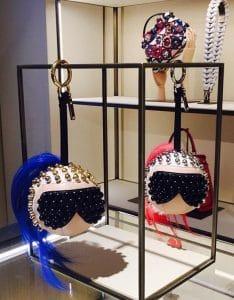 Fendi Studded Karlito Charms