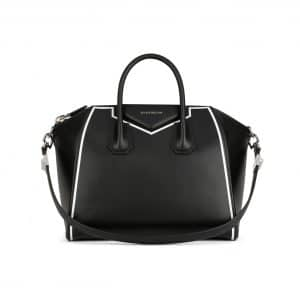 Givenchy Black with Contrasted Frame Medium Antigona Bag