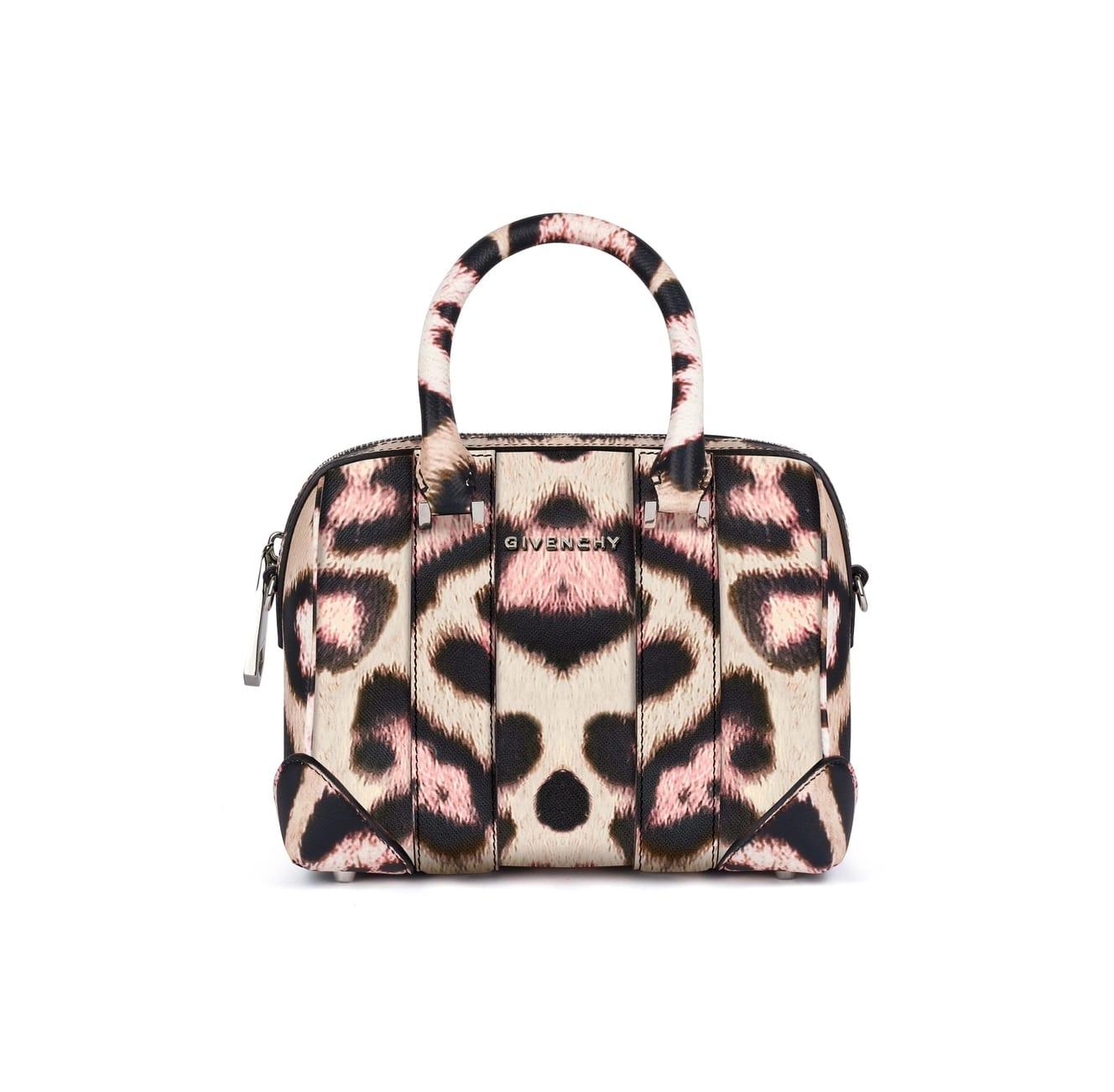 bag lyst product givenchy pinkmulti bags in jaguar gallery pandora mini printed normal pink handbags leather