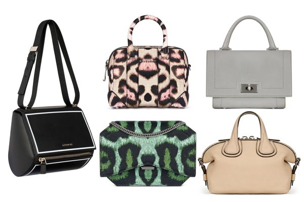 4db90ced0cdf Givenchy Resort 2016 Bag Collection featuring Colored Leopard Print