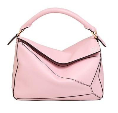 Loewe Pink Puzzle Medium Bag