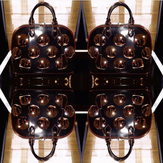 Louis Vuitton Black Embellished Alma Bags - Spring 2016