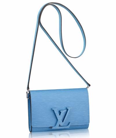 Louis Vuitton Bleuet Epi Louise PM Bag